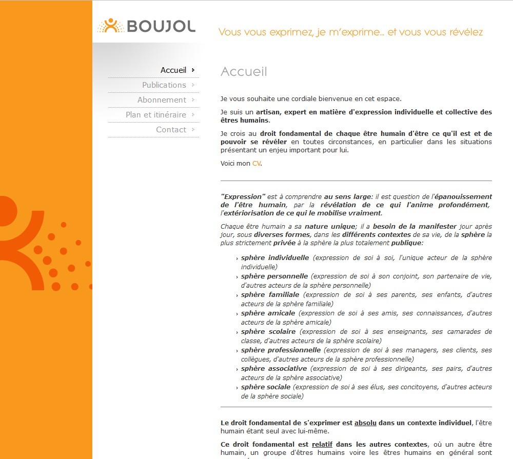 Boujol Formation & Conseil
